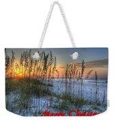 Glowing Sea Oats Sunrise Weekender Tote Bag