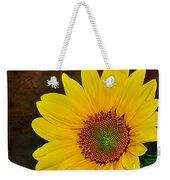 Glowing Sunflower Weekender Tote Bag