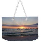 Glowing Sunset Weekender Tote Bag by Sandy Keeton