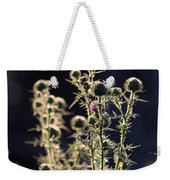 Glowing Thistle - 2 Weekender Tote Bag