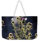 Glowing Thistle - 3 Weekender Tote Bag