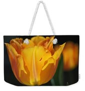 Glowing Tulips Weekender Tote Bag by Rona Black