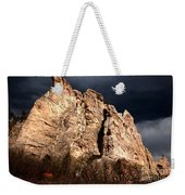Glowing Under Storm Clouds Weekender Tote Bag