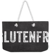 Gluten Free Weekender Tote Bag by Linda Woods