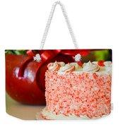 Gluten Free Peppermint Cake Weekender Tote Bag