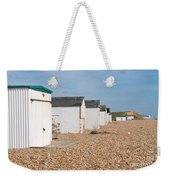 Glyne Gap Beach Huts In Sussex Weekender Tote Bag