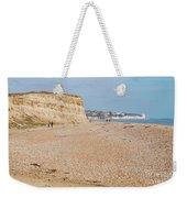 Glyne Gap Beach In England Weekender Tote Bag