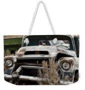 G M Old Pickup Weekender Tote Bag