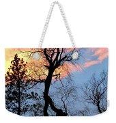 Gnarled Tree Silhouette Weekender Tote Bag