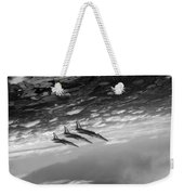 Gnats Inverted Black And White Version Weekender Tote Bag