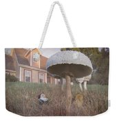 Gnome Home Weekender Tote Bag