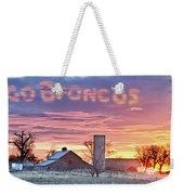 Go Broncos Colorado Country Weekender Tote Bag