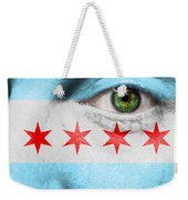 Go Chicago Weekender Tote Bag by Semmick Photo