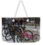 Go Pink Weekender Tote Bag
