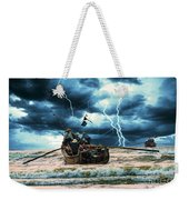 Go Though The Storm Weekender Tote Bag