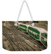 Go Train Weekender Tote Bag