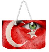 Go Turkey Weekender Tote Bag