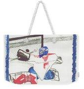 Goalie By Jrr Weekender Tote Bag