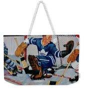 Goaltender Weekender Tote Bag