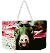 Goat Abstract Weekender Tote Bag