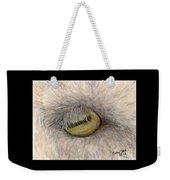Goat Eye Farm Ranch Animal Art Cathy Peek Weekender Tote Bag