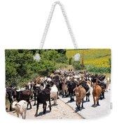 Goat Herd Weekender Tote Bag