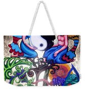 God And Gaia Weekender Tote Bag by Genevieve Esson