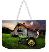 God Bless America Weekender Tote Bag by Debra and Dave Vanderlaan