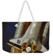God Plays Dice Weekender Tote Bag