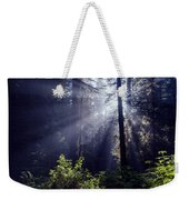 God Rays Through The Fog Weekender Tote Bag