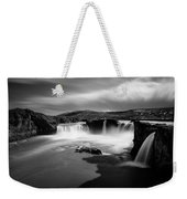 Godafoss Weekender Tote Bag by Dave Bowman