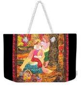 Goddess Crowning Weekender Tote Bag