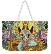 Goddess Of Asia Weekender Tote Bag