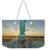 Goddess Of Freedom Weekender Tote Bag by Gary Keesler