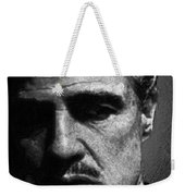 Godfather Marlon Brando Weekender Tote Bag by Tony Rubino