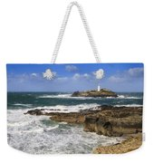 Godrevy Lighthouse - 5 Weekender Tote Bag