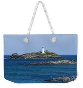 Photographs Of Cornwall Godrevy Lighthouse Weekender Tote Bag