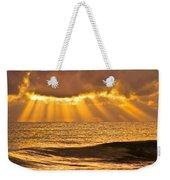God's Eyelashes Weekender Tote Bag