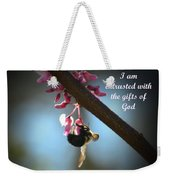 God's Gifts Weekender Tote Bag