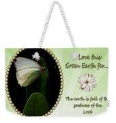 God's Goodness Weekender Tote Bag