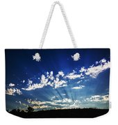 Gods Rays Weekender Tote Bag