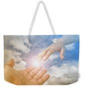God's Saving Hand Weekender Tote Bag