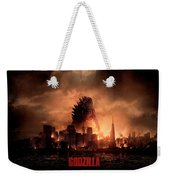 Godzilla 2014 Weekender Tote Bag