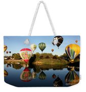 Going For A Dip Weekender Tote Bag
