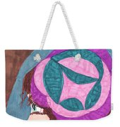 Going For A Walk Weekender Tote Bag