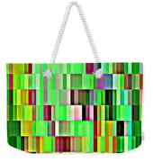Going Green Geometric Abstractions Colorful Creations Designer Phone Cases 123 Carole Spandau Weekender Tote Bag