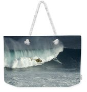 Going Left At Jaws Weekender Tote Bag