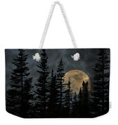 Going To The Sun Moonrise Weekender Tote Bag