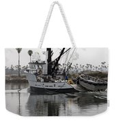 Going To Work Weekender Tote Bag by Amanda Barcon