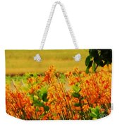 Gold And Orange Landscape Weekender Tote Bag